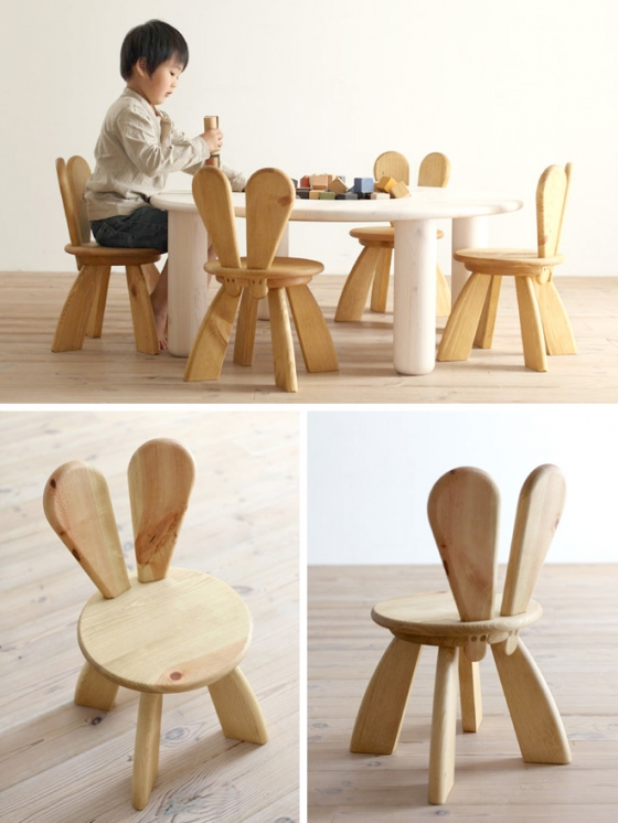 2_all-natural-pine-wood-hiromatsu-furniture_rabbit_bunny_easter_little_gatherer_children_kids