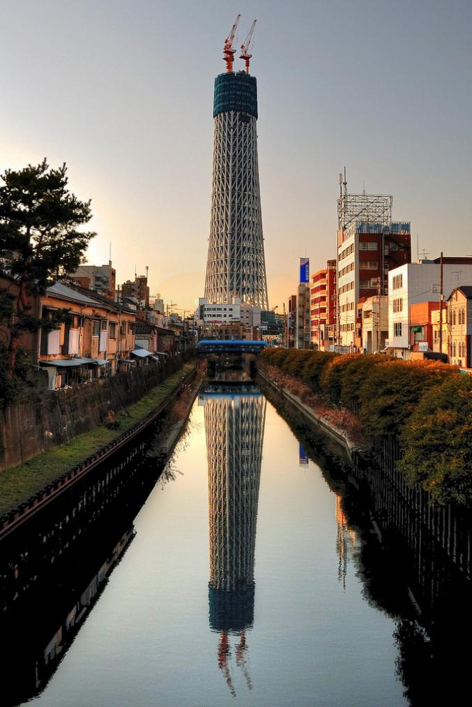 in progress tokyo sky tree