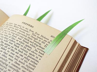 yuririku grass marker detail Green Marker | Yuruliku
