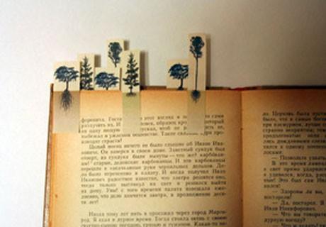 konica minolta eco and art 2010 - tree pagemarkers by Megumi Takagi 4