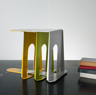 bookend table by homeworks 2 Bookend Table by Homeswork