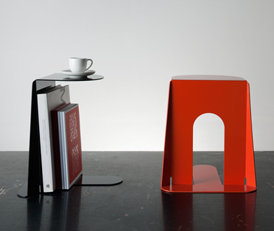 bookend table by homeworks Bookend Table by Homeswork
