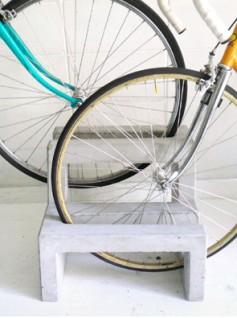 tenkei bicycle rack 2 237x318 Tenkei Concrete Bicycle Rack