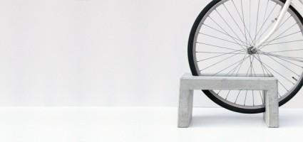tenkei bicycle rack 425x200 Tenkei Concrete Bicycle Rack