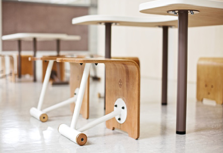 desk and chairs by design water