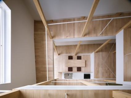 house of slope FujiwaraMuro 2 425x318 House of Slope by FujiwaraMuro Architects