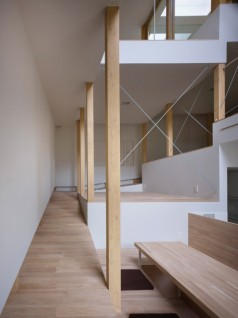 house of slope FujiwaraMuro 4 238x318 House of Slope by FujiwaraMuro Architects