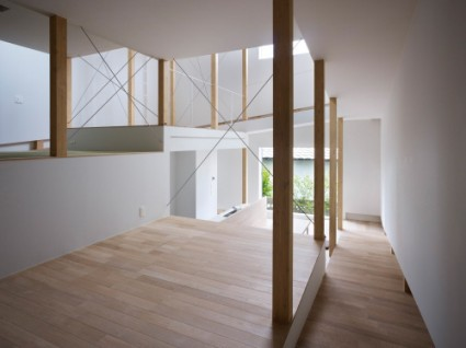 house of slope FujiwaraMuro 5 425x318 House of Slope by FujiwaraMuro Architects
