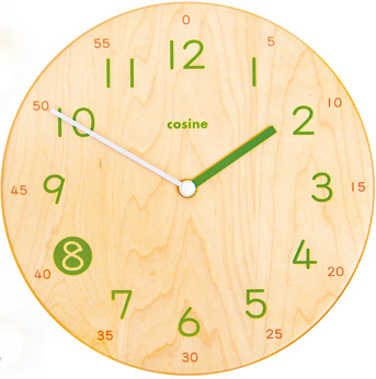 cosine kids clock