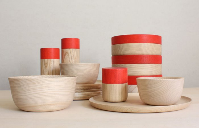 ... an Ishikawa-based lacquer ware-maker with an 80-year history Kenji Ito and Takahiro Umino of design unit MUTE have designed a wooden tableware set that ... & Soji wooden tableware designed by MUTE | Spoon u0026 Tamago