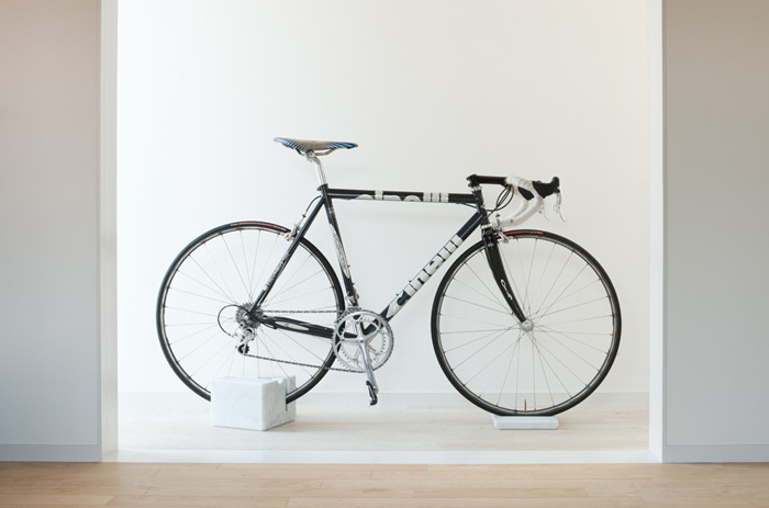Milestone Bike Stand Spoon Tamago