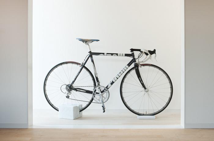 Motorbike Stand Designs : Milestone bike stand spoon tamago