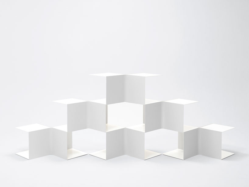 Remarkable Square Bookshelves By Nendo Spoon Tamago Gmtry Best Dining Table And Chair Ideas Images Gmtryco