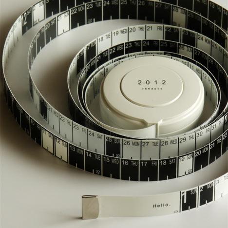 2012 calendar by hiroyuki miyake 2