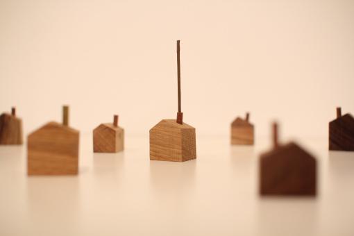 House Chimney Design chimney house incense holderdesign office a4   spoon & tamago