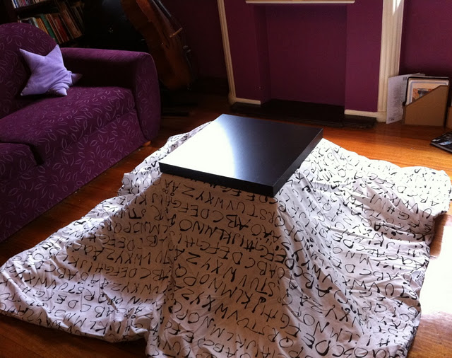 Came Across This Economical And Totally Custom IKEA Kotatsu Hack