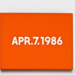 On Kawara date paintings (4)