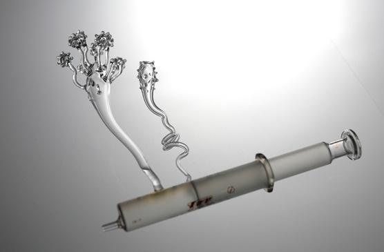 Stylons, Mika Aoki, Glass Sculptures, Glasbläserei, Glasskulpturen, Japan, Kunst, Singing Glass