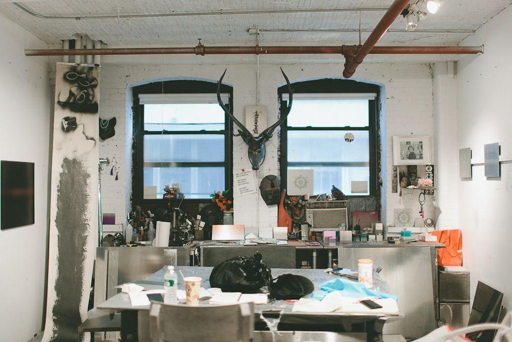 miya ando studio visit