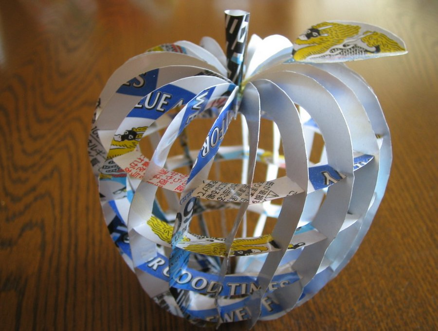 recycled beer can art by macaon spoon tamago
