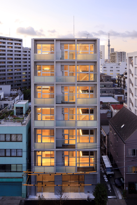 Good design awards 2012 ingen rental apartments by akio for Apartment design guide part 3