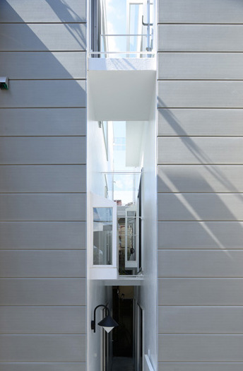 Architecte Gap living in a gap | ondesign's latest residential project pushes the