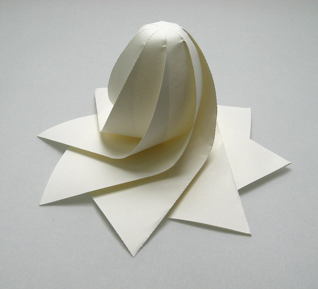 Hi-Tech 3D Origami by Jun Mitani | Spoon & Tamago - photo#14