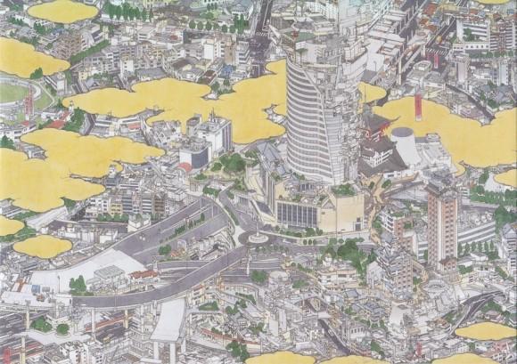 yamaguchi Tokei- Hiroo and Roppongi( detail)