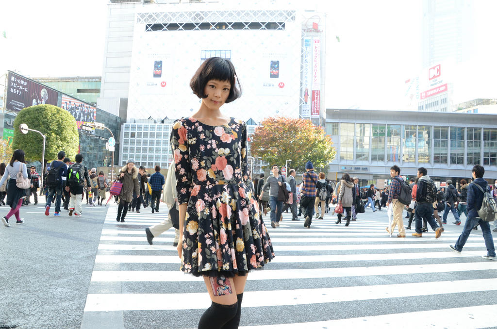 Japanese social media marketing pay young girls to stick for Advertising agency tokyo