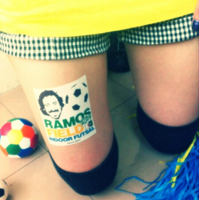 Japanese thigh advertising (9)