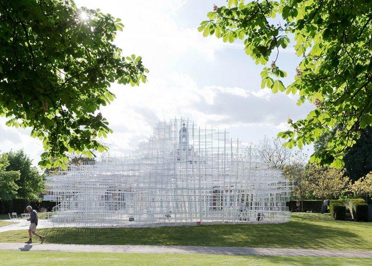 2013 Serpentine Pavilion By Sou Fujimoto Spoon Amp Tamago
