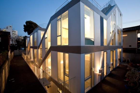 komada architects SLIDE house (1)