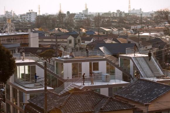 komada architects SLIDE house (2)