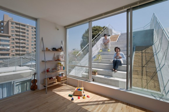 komada architects SLIDE house (4)