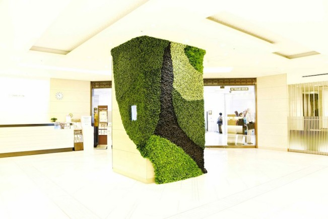 Isetan grand opening collapsible leaves (3)