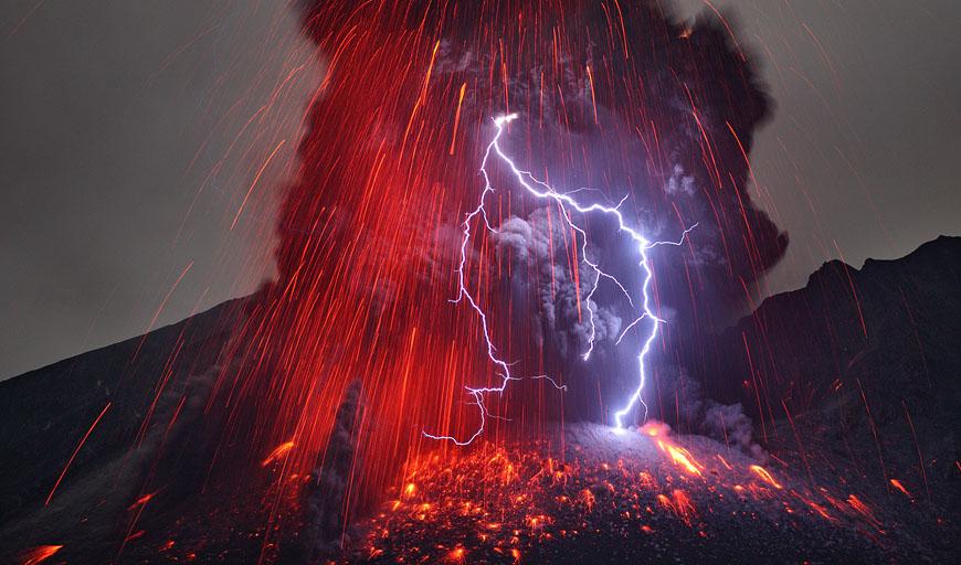 Nasas Astronomy Picture Of The Day Sakurajima Valcano Unleashing Hell