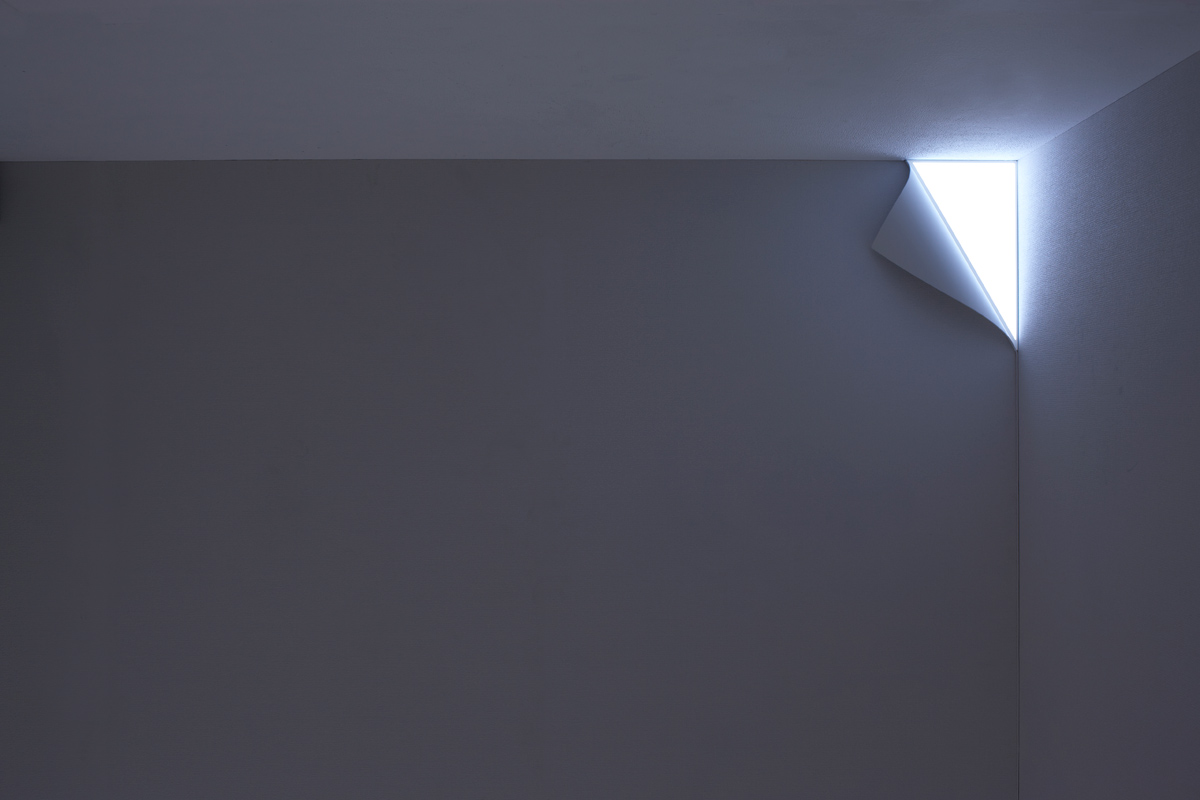 A Night Light That Turns Your Wall Into An Entrance To