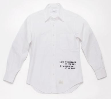 Thom Brown Aoyama - Wonderwall (shirt)