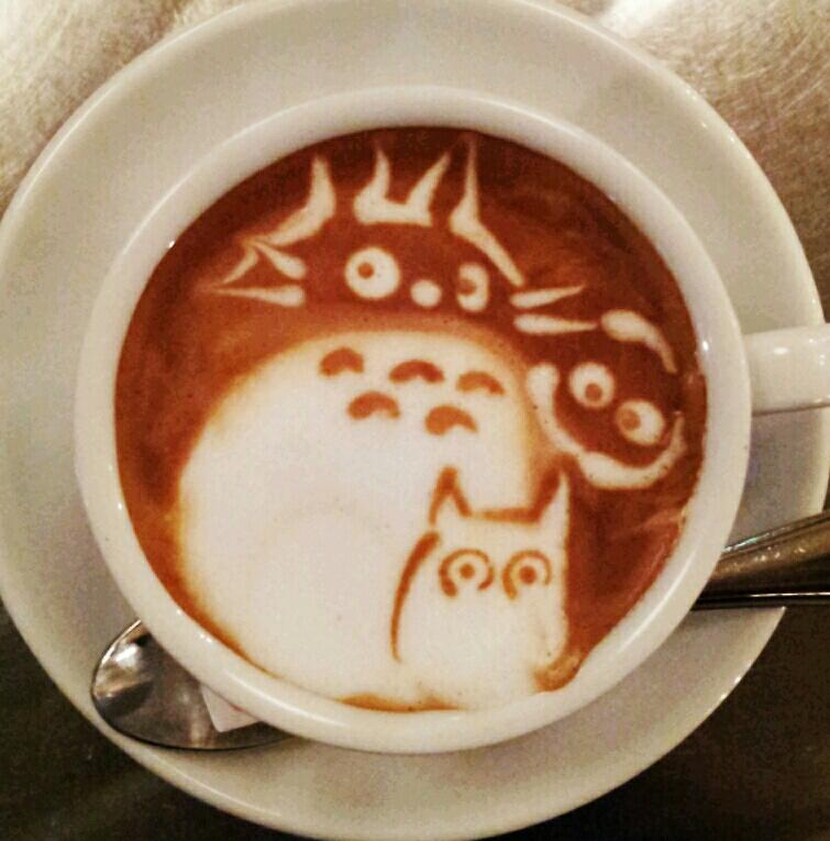 latte art tottoro
