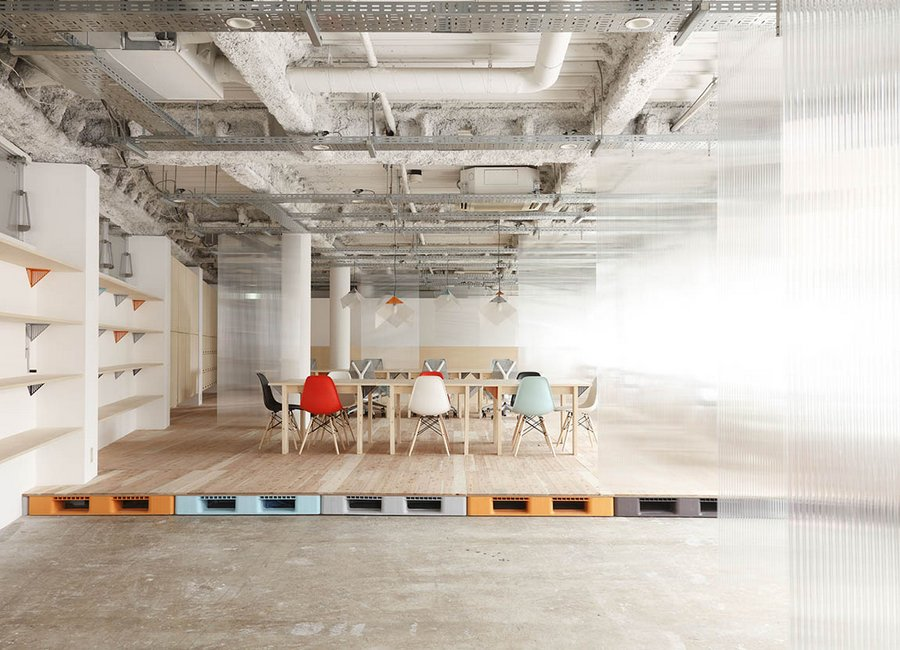 Mozilla japan 39 s new open source office spoon tamago for Japanese office interior design