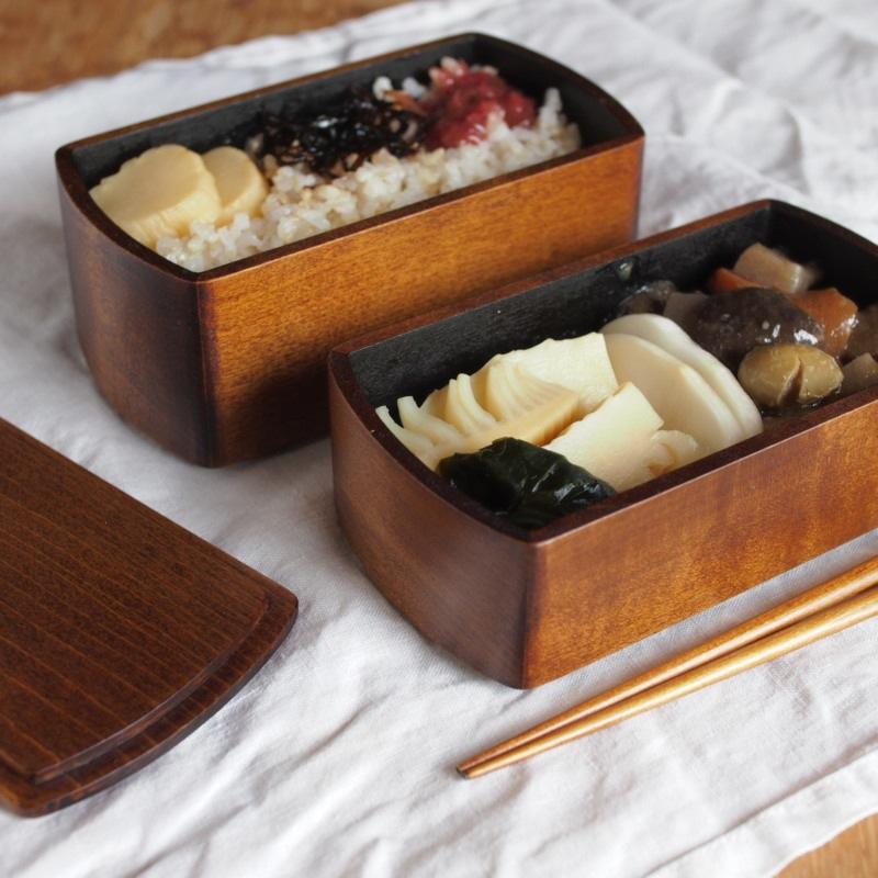 Wooden Lacquered Bento Boxes By Oji Masanori Spoon amp Tamago