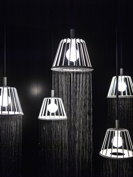 Create Your Own Rain Room With Nendo 39 S Lampshade Shower