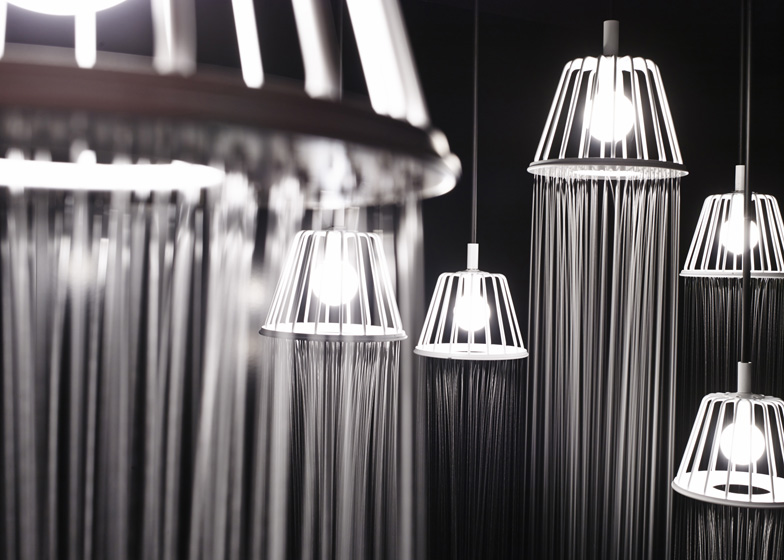 ... Rain Room With Nendou0027s Lampshade Shower. WaterDream By Nendo Axor (2)