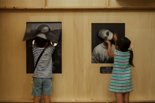 Kids Exhibition Booth : A haunted house art exhibition for kids spoon tamago