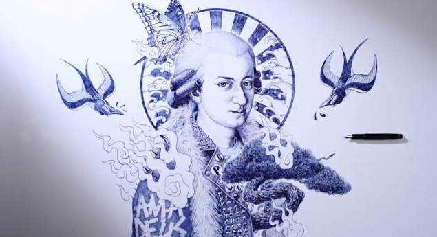 shohei ballpoint pen drawings (2)