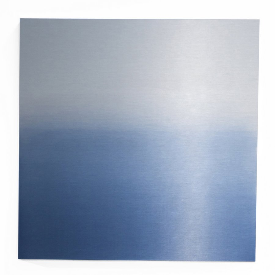 Transformations miya ando 39 s 20 aluminum paintings for for Painting anodized aluminum