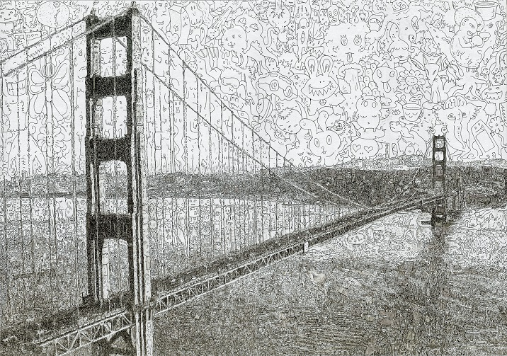 keita sagaki 2013 Golden Gate Bridge