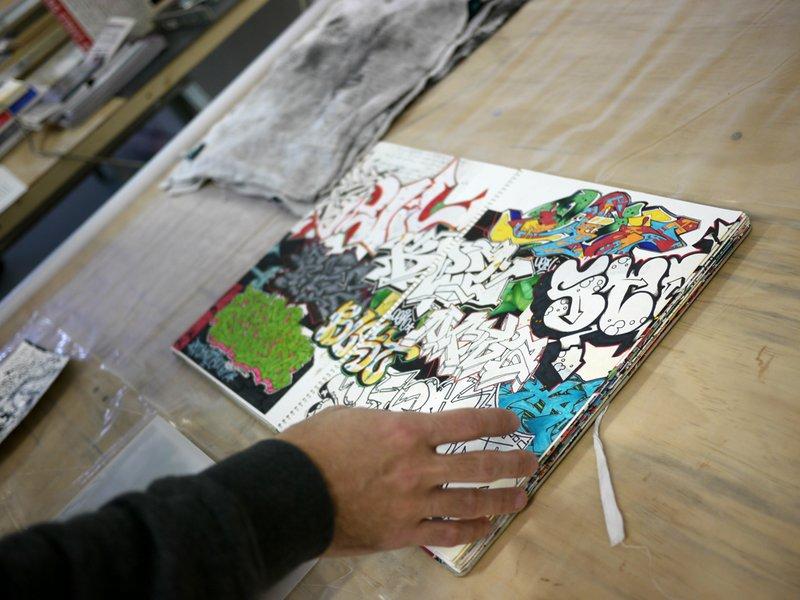 Enrico Letter Studio Visit (5)