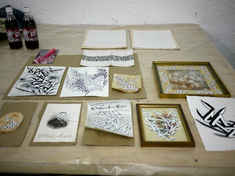 Enrico Letter Studio Visit (6)