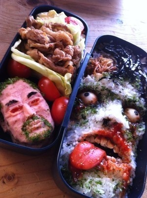 overly artistic japanese bento boxes (1)